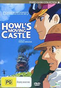 Howl's Moving Castle (Standard Edition) on DVD