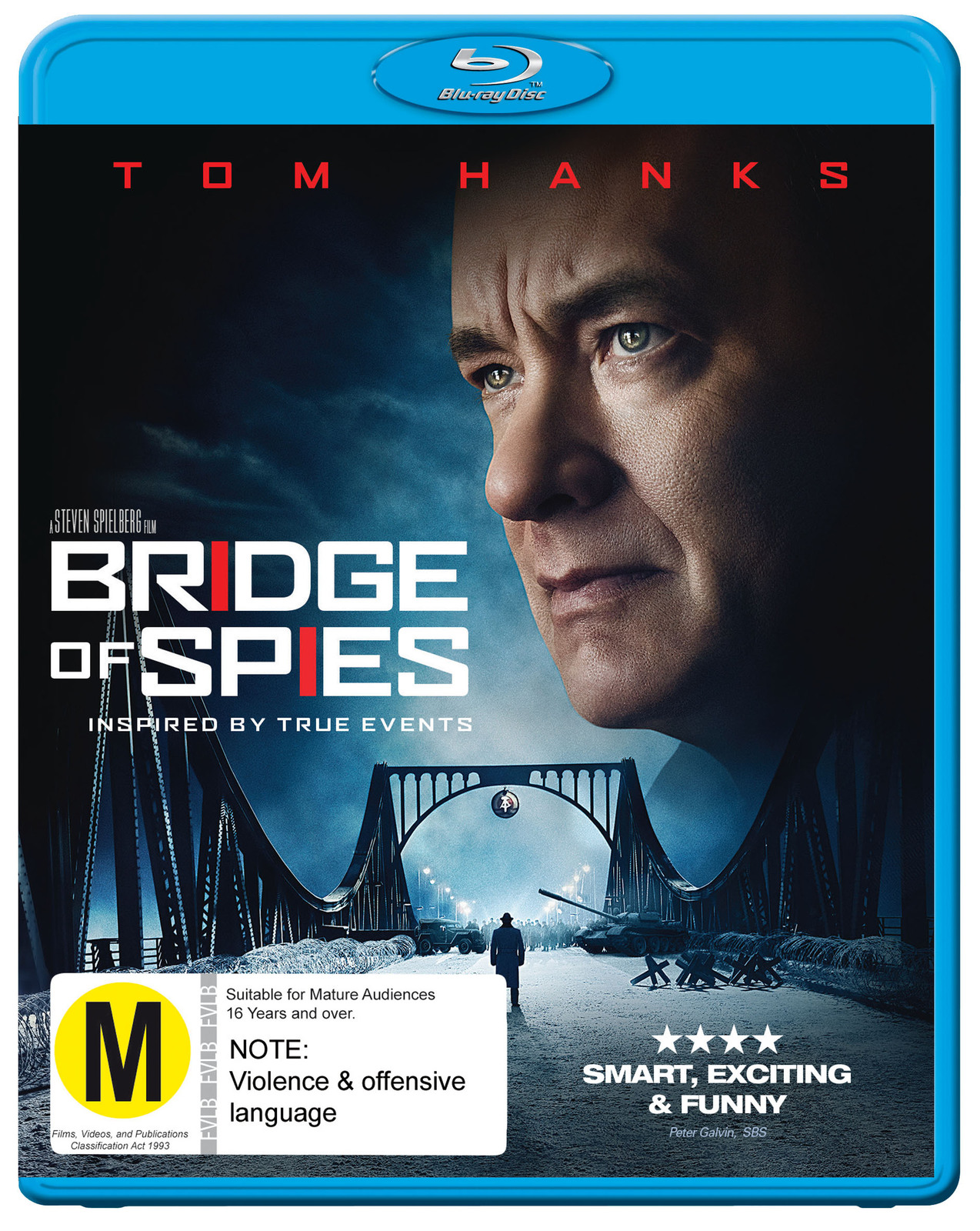Bridge Of Spies on Blu-ray image