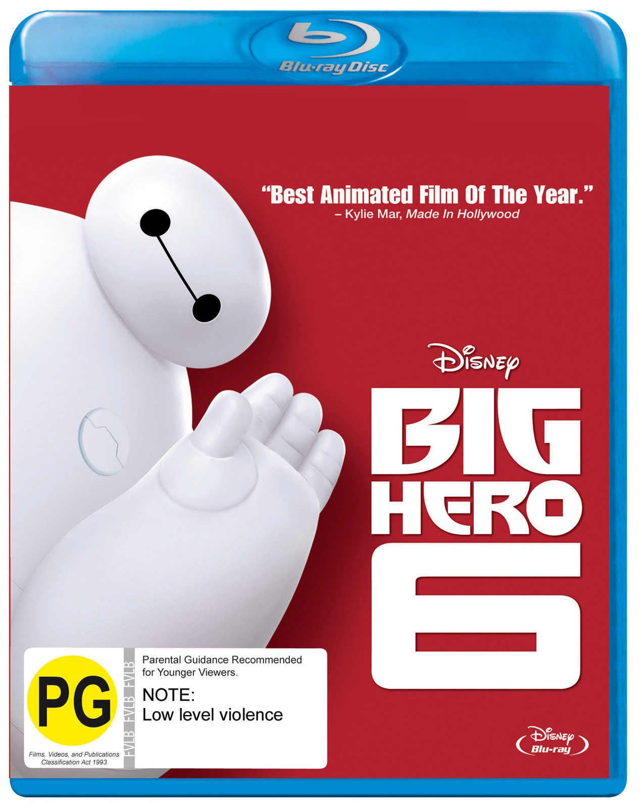 Big Hero 6 on Blu-ray image