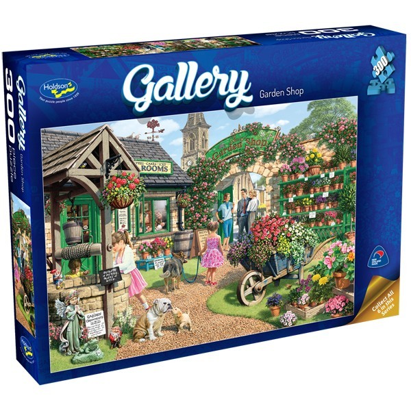 Holdson: 300pce Gallery Series XL Puzzle (Garden Shop)