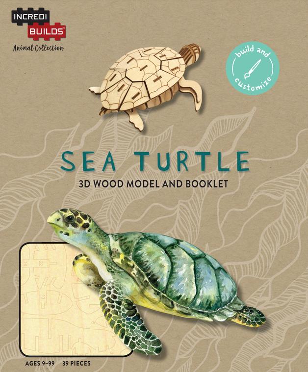 IncrediBuilds: Sea Turtle