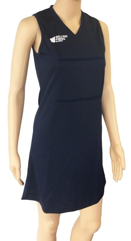 Silver Fern: Netball Dress - 3XL (Navy)