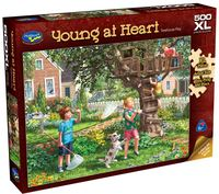 Holdson: Young at Heart - Treehouse Play - 500 Piece XL Puzzle