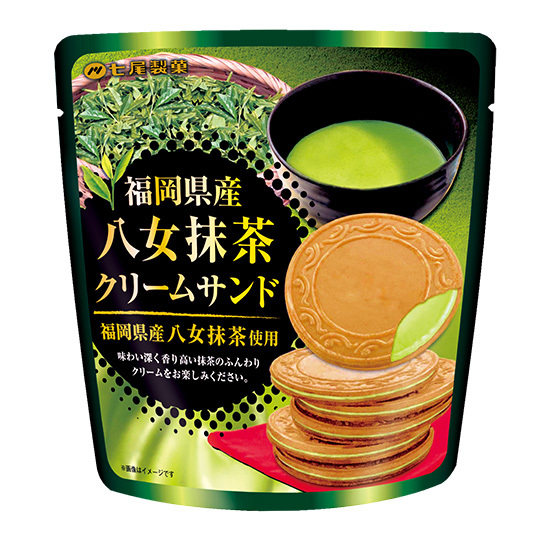 NANAO Cream Sandwich Cookie Matcha 68g