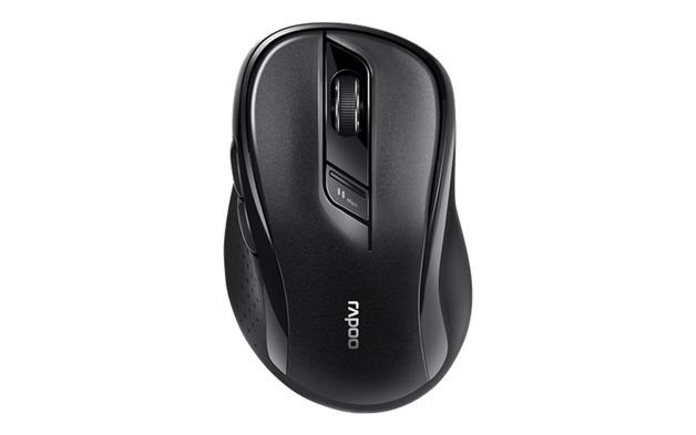 Rapoo M500 Silent Multi-mode Wireless Optical Mouse - Black