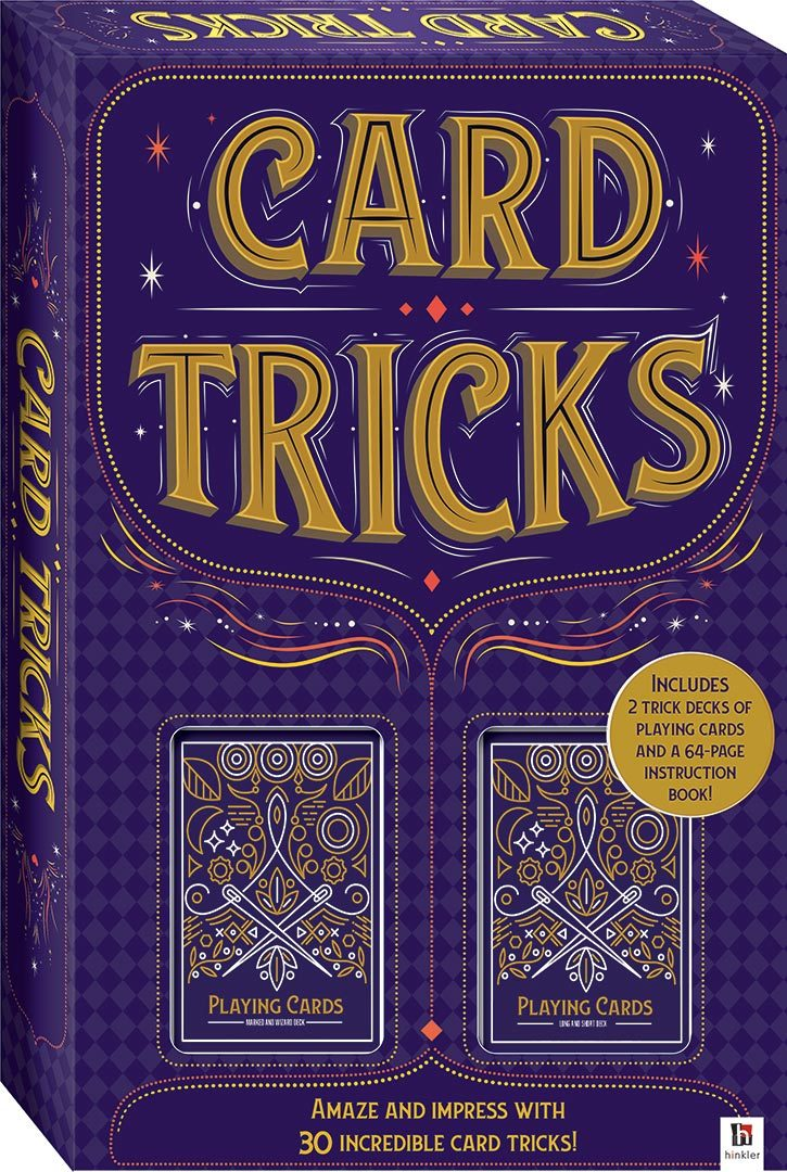 Hinkler: Card Tricks - Magic Kit image