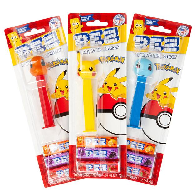Pez Pokemon Dispenser 25g