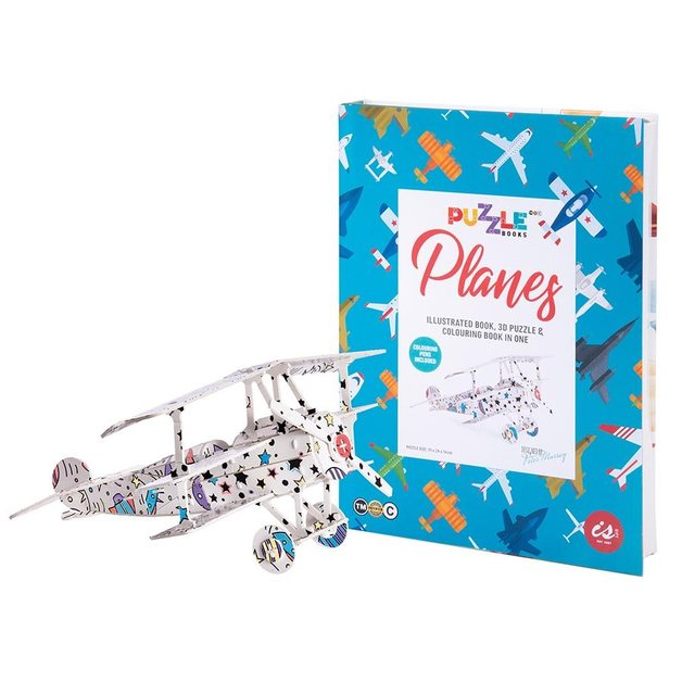IS GIFT: Puzzle Book - Planes