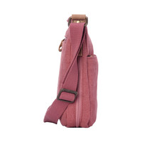 Troop London: Classic Small Zip Top Shoulder Bag - Pink image