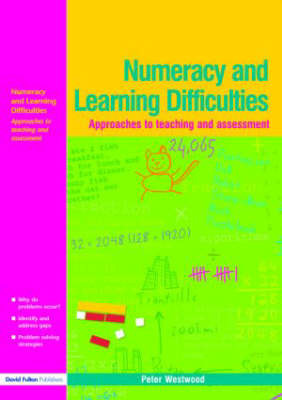 Numeracy and Learning Difficulties by Peter Westwood