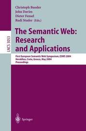 The Semantic Web: Research and Applications image