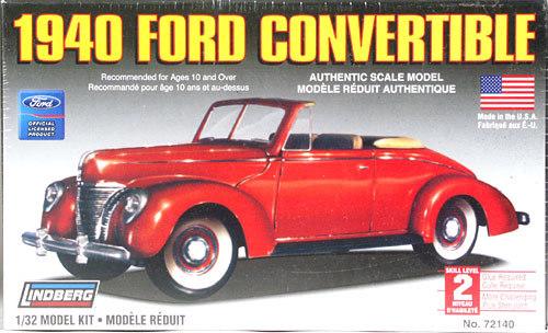 Lindberg: 1/32 1940 Ford Convertible