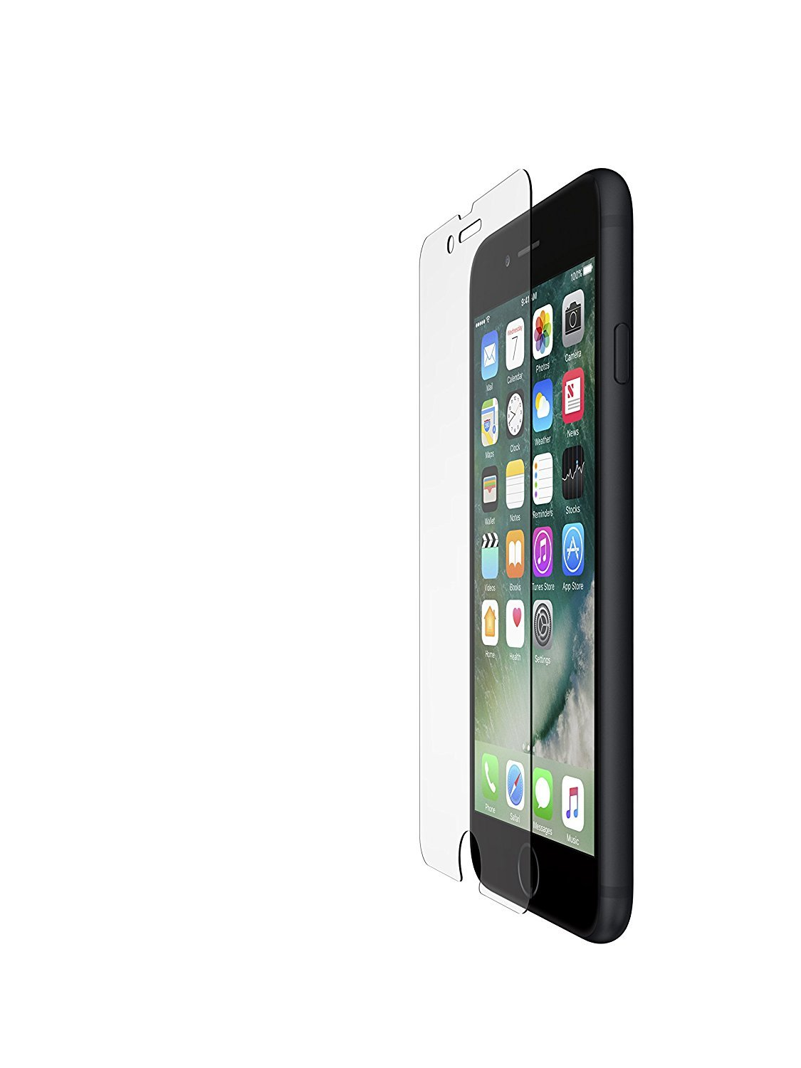 Belkin ScreenForce Tempered Glass Screen Protector for iPhone 7 image