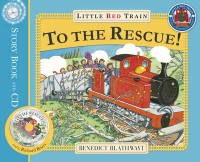 Little Red Train to the Rescue by Benedict Blathwayt image