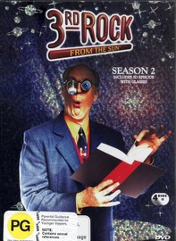 3rd Rock From The Sun Season 2 on DVD image