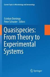 Quasispecies: From Theory to Experimental Systems image