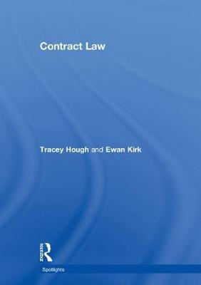 Contract Law by Tracey Hough image