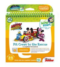 Leapstart 3D: Mickey & The Roadster Racers - Pit Crews to The Rescue (Level 1)