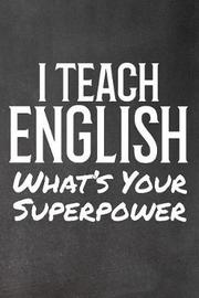 I Teach English by Faculty Loungers