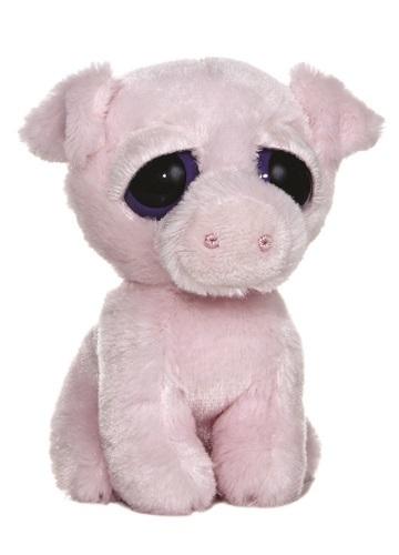 Aurora: Dreamy Eyes Plush - Oink Pig