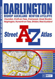 Darlington Street Atlas by Geographers A-Z Map Company image
