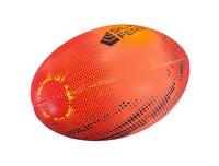 Silver Fern Astro Rugby Ball Trainer - Orange (Size 2.5)