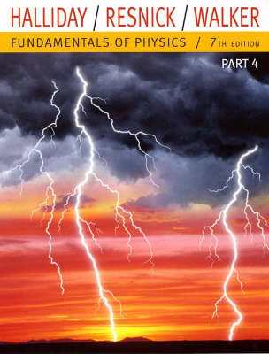 Fundamentals of Physics: Pt. 4: Chapters 33-37 by David Halliday image