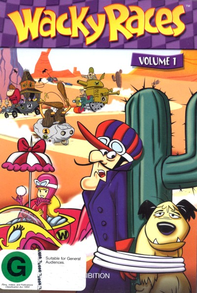 Wacky Races - Volume 1 on DVD image