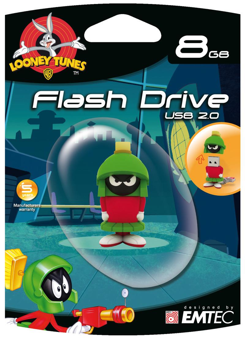 Emtec Looney Tunes Flashdrive 8GB - Marvin the Martian ...