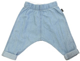 Bonds Chambray Pants - Summer Blue (12-18 Months)