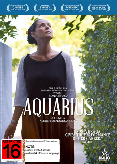 Aquarius on DVD image