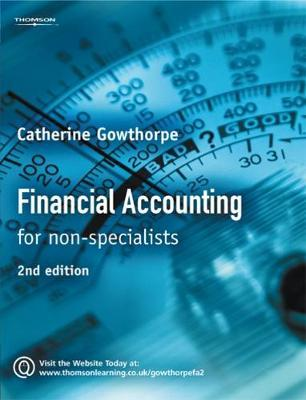 Financial Accounting by Catherine Gowthorpe image