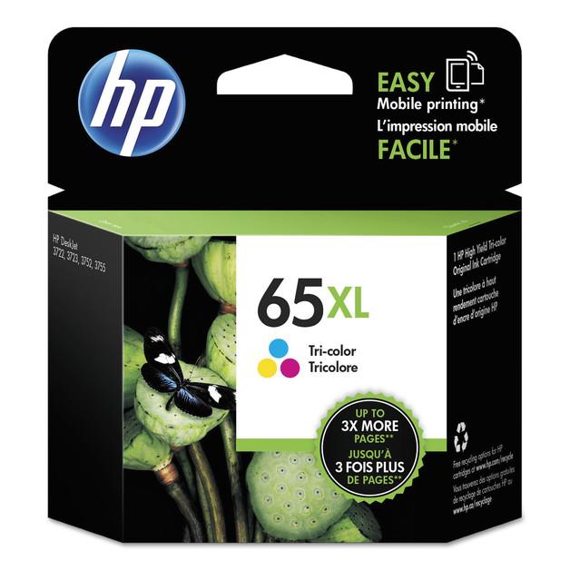 HP 65XL Tri-Colour High Yield Ink Cartridge