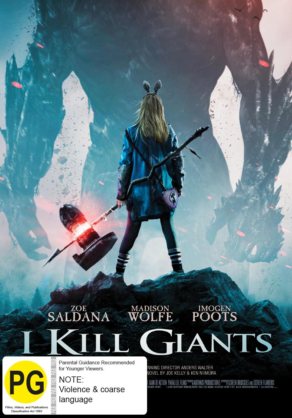 I Kill Giants on DVD image