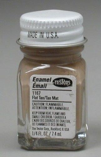 Testors: Enamel Paint - Flat Tan