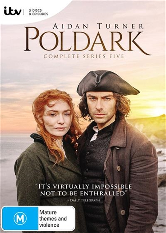 Poldark: The Complete Fifth Season on DVD