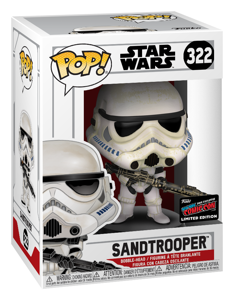 Star Wars: Sandtrooper - Pop! Vinyl Figure image