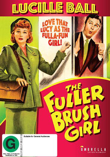 The Fuller Brush Girl on DVD