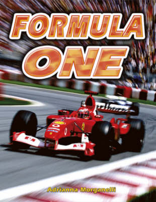Formula One by Adrianna Morganelli image