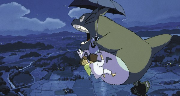 My Neighbor Totoro on DVD image
