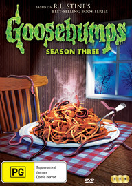 Goosebumps - Season 3 on DVD