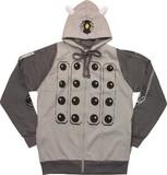 Doctor Who: Gray Dalek Hoodie - XL
