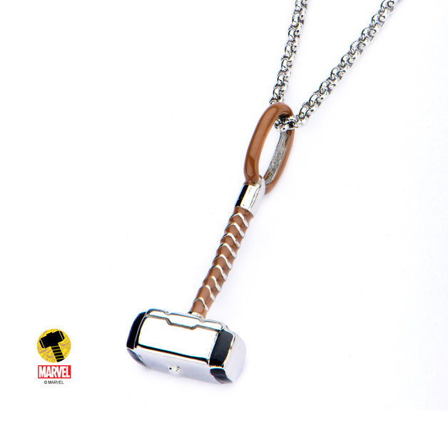 Marvel Thor Hammer Necklace | Women's | at Mighty Ape NZ