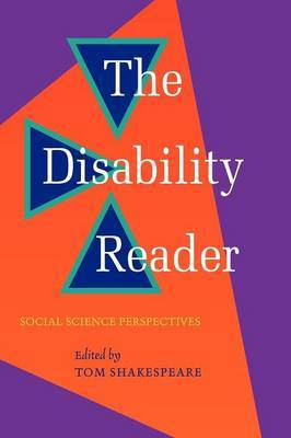 The Disability Reader by Tom Shakespeare image