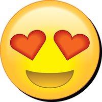 Emoji: Eye Hearts Funky Chunky Magnet