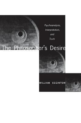 The Philosopher's Desire by William Egginton image