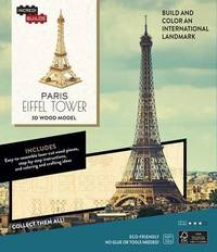 IncrediBuilds: Paris: Eiffel Tower 3D Wood Model by Insight Editions
