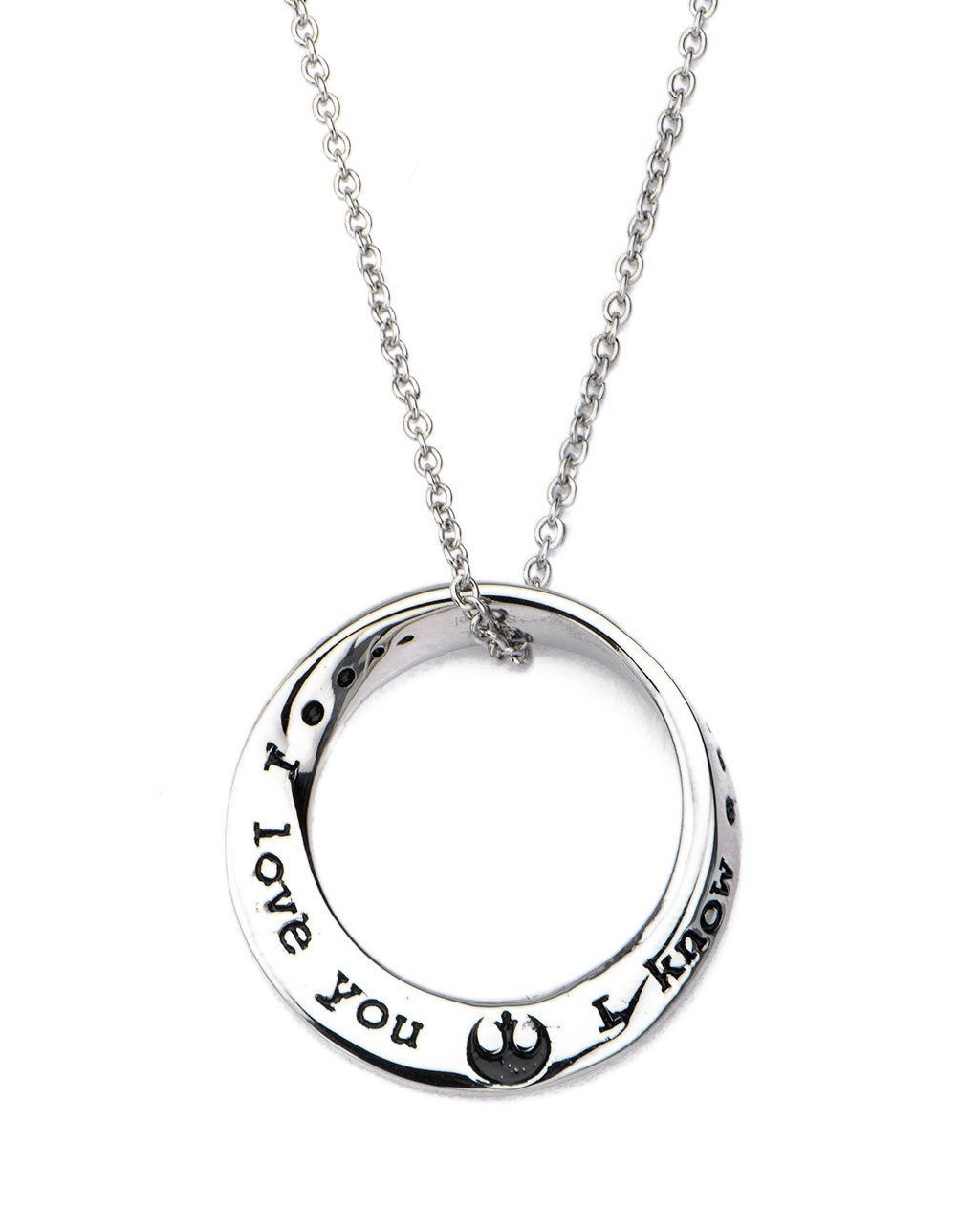 Star Wars: I Love You, I Know - Mobius Necklace image