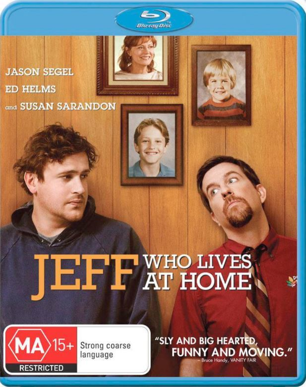 Jeff Who Lives At Home on Blu-ray
