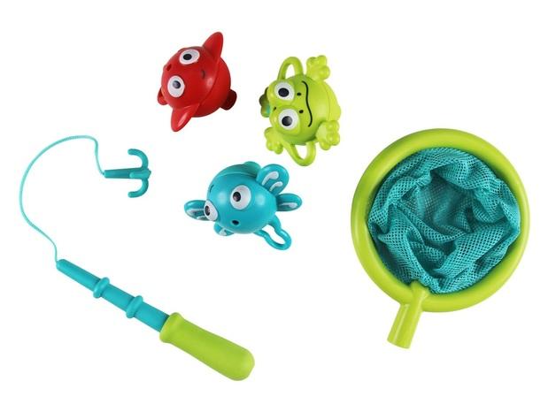 Hape: Double Fun Fishing - Bath Toy Set